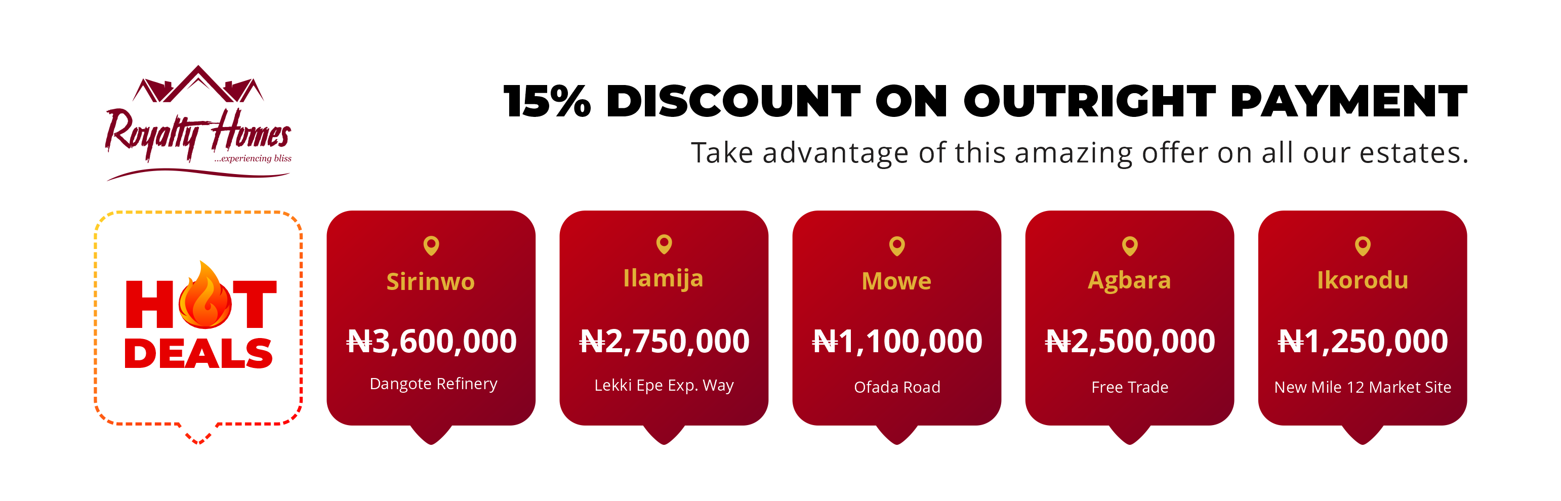 Royalty-Homes-Price-Discount-15%